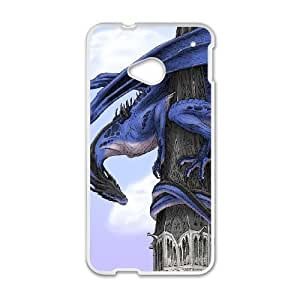 Ancient Dragon HTC One M7 Cell Phone Case White gife pp001_9263077