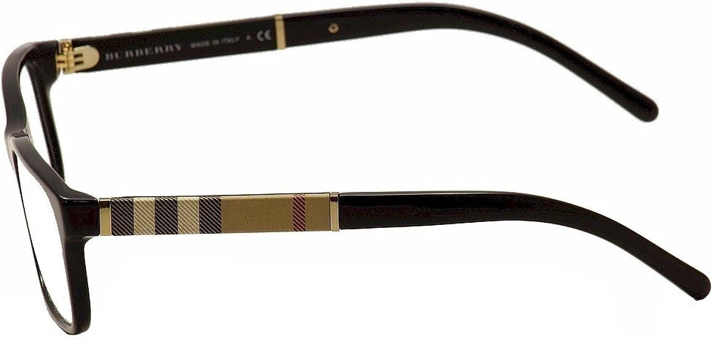 86b402fbc7 Burberry BE2162 Eyeglasses-3001 Black-53mm  Amazon.ca  Clothing ...