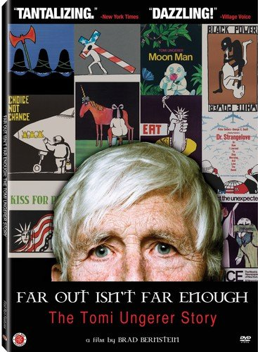 DVD : Jules Feiffer - Far Out Isn't Far Enough: The Tomi Ungerer Story (DVD)