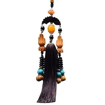 Vimbhzlvigour - Colgante para Coche, diseño de Flor de Loto: Amazon.es: Jardín