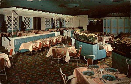 King's Garden of the Pittsburgh Hilton Pittsburgh, Pennsylvania Original Vintage Postcard