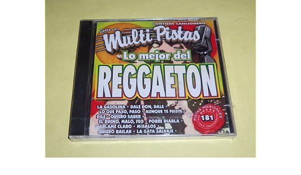 MultiPistas Karaoke - Lo Mejor del Reggaeton 181 Karaoke ...