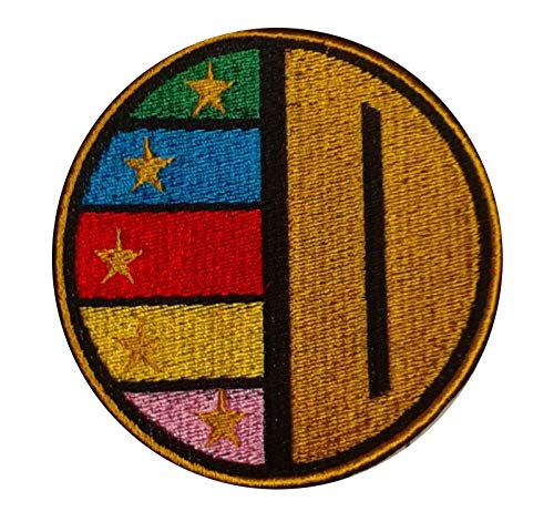 Embroidered Gosei Sentai Dairanger Chest Logo Badge for sale  Delivered anywhere in USA