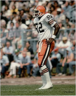 Ozzie Newsome Cleveland Browns Unsigned Football Photo