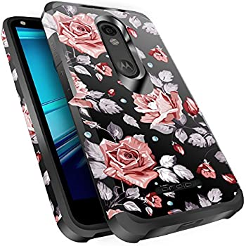 Droid Turbo 2 Case, Miss Arts Slim Anti-Scratch Protective Kit with [Drop Protection] Dual layer Hybrid Protective Cover Case for Verizon Motorola Droid ...