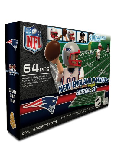 NFL New England Patriots Endzone Toy Set