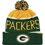 NFL Green Bay Packers Men's Calgary Knit Cap, One Size, Cheddar