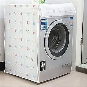 Yesiidor Funda impermeable para lavadora con estampado de parte ...