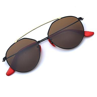 Amazon.com: BNUS Italy made Fashion Round Style Corning Flat Lenses ...