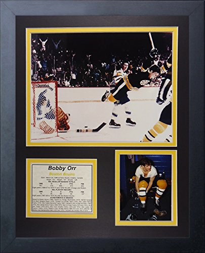 Legends Never Die Bobby Orr Game Winning Goal Collage Photo Frame, 11