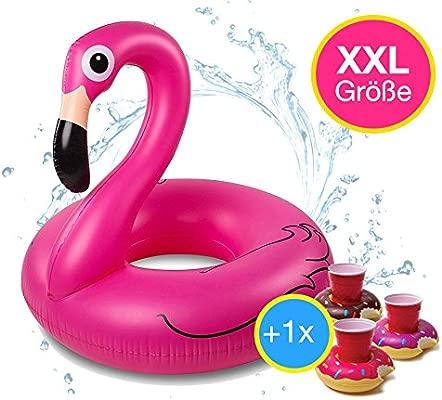 TK Gruppe Timo Klingler Flamingo XXL 120 cm Swim Ring ...