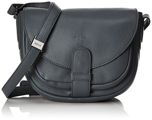 BREE Lady Top 2, Blue, Ladies' Handbag - Bolso Bandolera para Mujer Grau (Slate)