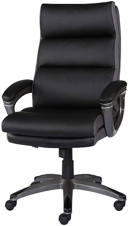 Amazon Com Staples 2260347 Rockvale Luxura Office Chair Black Furniture Decor