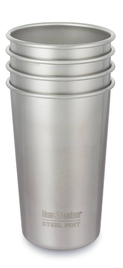 Klean Kanteen - 0.30 L Kanteen Cup 4 Pack, Color Steel: Amazon.es: Deportes y aire libre