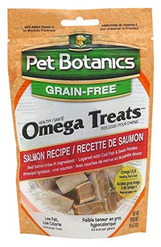 Pet Botanics Healthy Omega Treats for Dogs, Salmon, 3 oz.