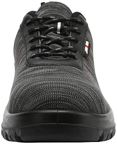 lm Da Nero Lavoro Eh Scarpe scarpe Punta In Acciaio Umno Traspiranti Ultraleggeri 328 Antinfortunistiche Riflettenti wS1tnxtqZC