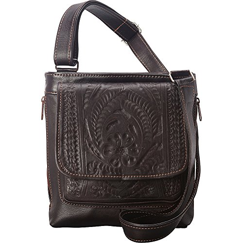 ropin-west-crossover-conceal-weapon-purse-brown