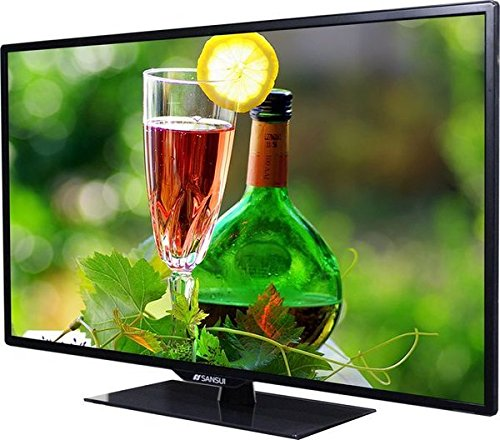 Sansui SLED4015 40 Inch LED TV (1080p Display, FHD 1920 x 1080, HDMI, 16:9, PC Monitor Output, 3D Comb Filter) Piano Black