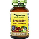 MegaFood Blood Builder Energy Boosting Iron Supplement Tablets, 90 Count