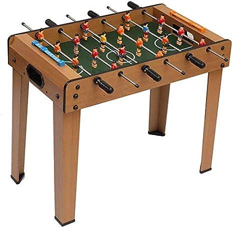 AK Futbolín de mesa de madera partido de fútbol, 61 X 31 X 20 cm de futbolín de mesa para niños de 2 a 18 jugadores de las bolas,E: Amazon.es: Bricolaje y herramientas