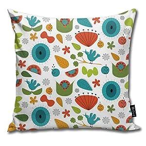 Zara-Decor Funda de cojín Decorativa para el hogar, diseño ...