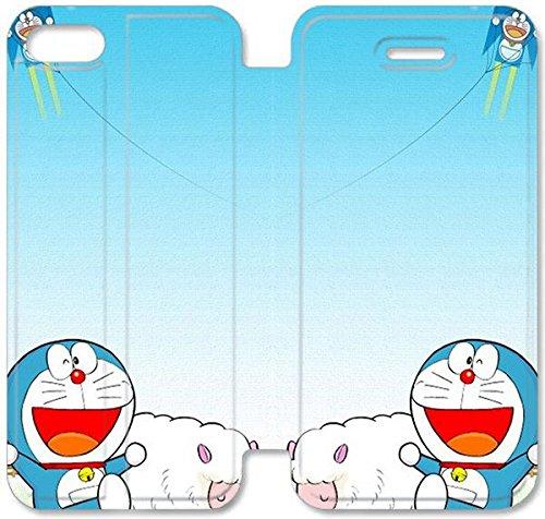 Funda iPhone 5C Cuero,Wonderful Tema diseño de [Doraemon ...