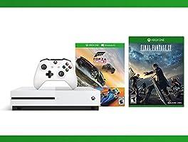 Xbox One S 500GB Console - Forza Horizon 3 Hot Wheels Console Bundle + Final Fantasy XV + NBA 2K17 Bundle ( 3 - Items )