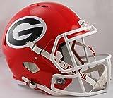 NCAA Georgia Bulldogs Full Size Speed Replica Helmet, Red, Medium