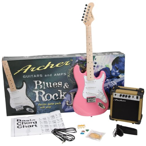 (Archer Solid-Body Electric Guitar with Maple Neck)
