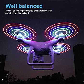 1 Pair Nylon LED Light Propellers Blades CW CCW Accessory for DJI Phantom 4