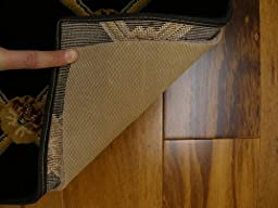 6\'x9\' Multiple Sizes. AREA RUG PAD. Durable, Reversible for hard surfaces and carpet. Authentic Mohawk Rug Assist II. kx27a. REVERSIBLE Rug Cushion. Premium FELT Jute padding with RUBBER backing. For hard surface floors, area rugs, runners and carpet.