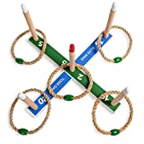 Champion Sports Kids and Family Ring Toss Game - Indoor Outdoor Party Fun - Games on the Lawn - Adults and Families