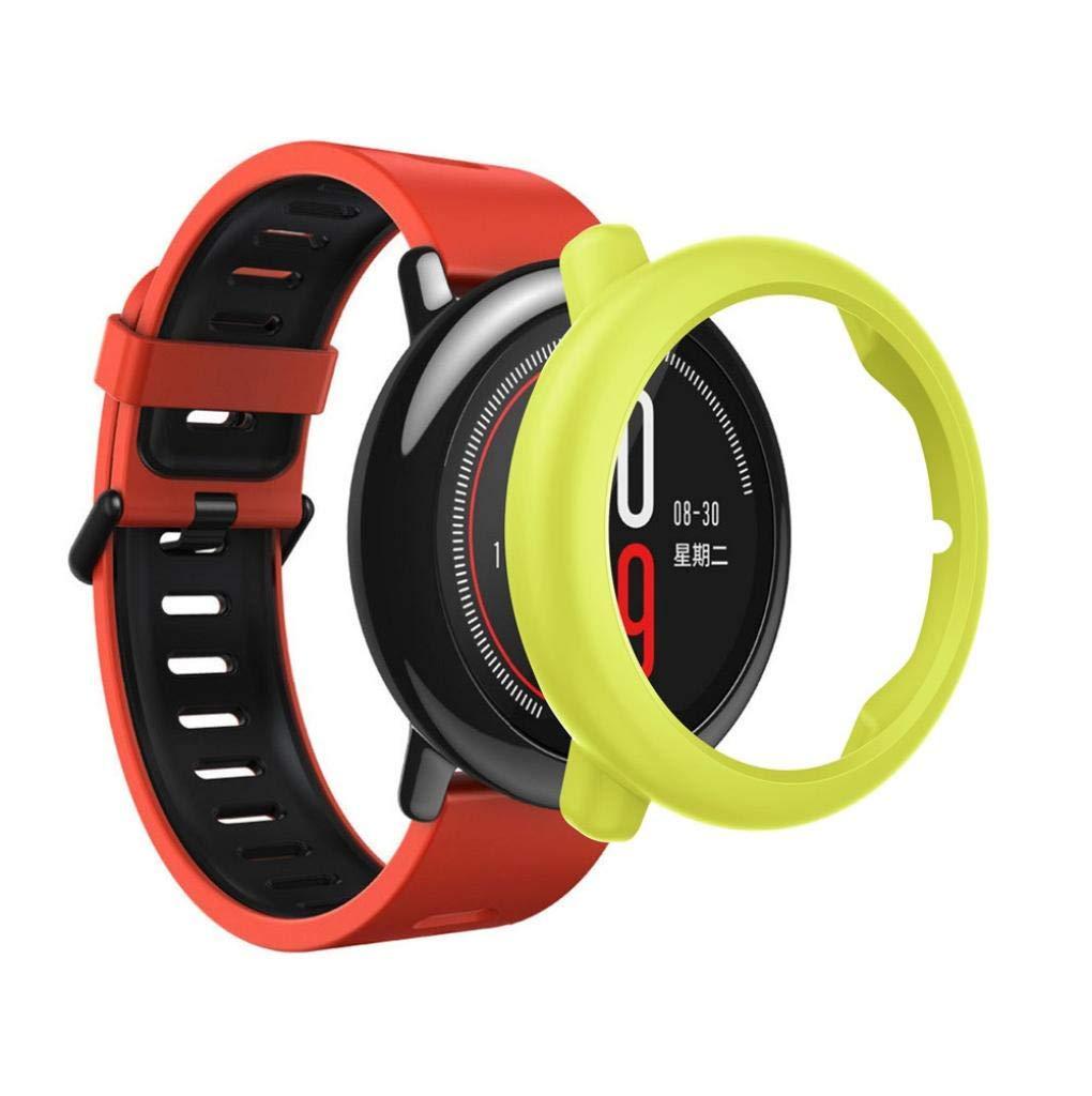 Protector para xiaomi HUAMI AMAZFIT,☀️Modaworld Accesorios de Reloj Inteligente Carcasa de PC Fundas Protector para HUAMI AMAZFIT Reloj Deportivo ...