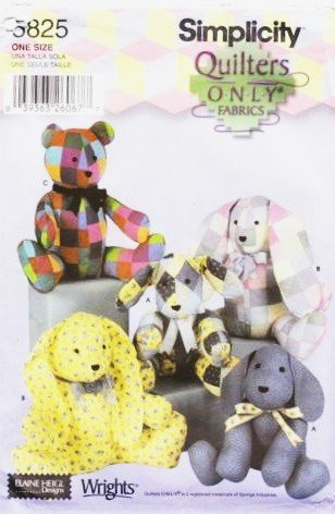 Amazon SIMPLICITY 60 QUILT TEDDY BEAR BUNNY PATTERN Fascinating Bunny Pattern