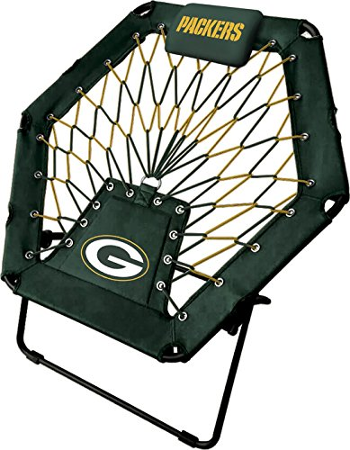 Imperial Officially Licensed NFL Furniture: Premimum Bungee Chair, Green Bay Packers