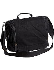 Vagabond Traveler Washed Canvas Leisure Messenger Bag