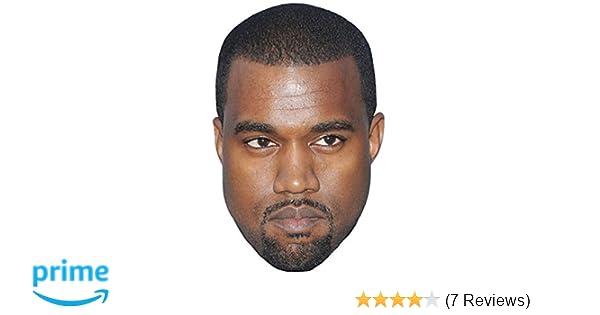 Kanye West Celebrity Mask, Cardboard Face and Fancy Dress Mask