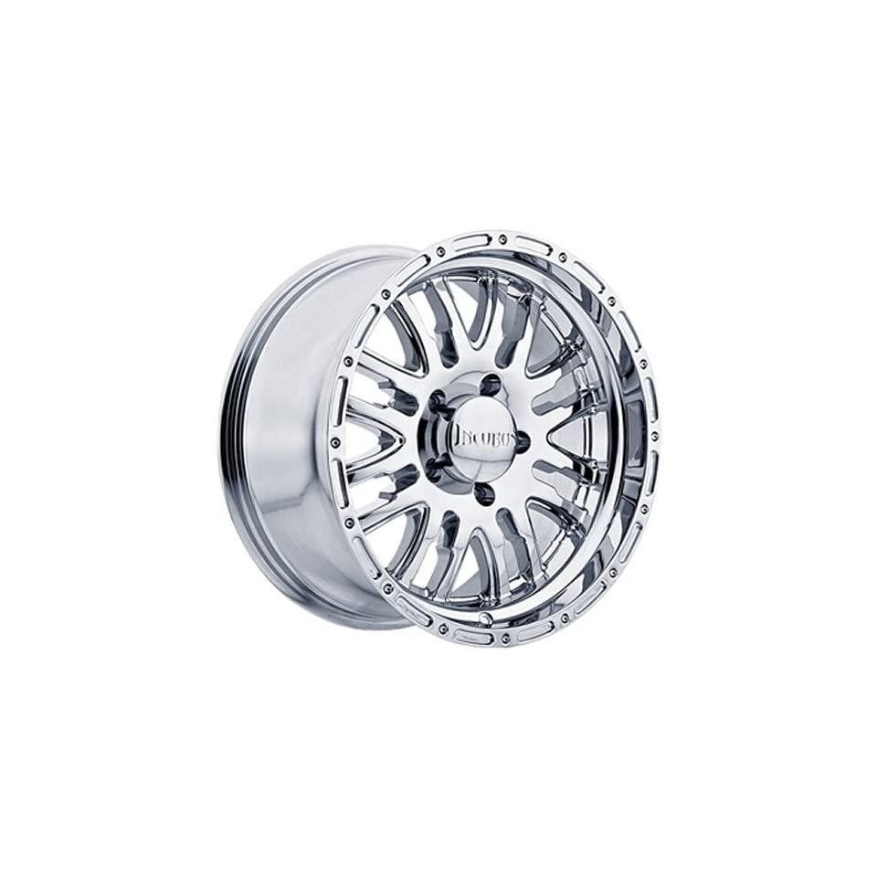 Incubus Supernatural 18x9 Chrome Wheel / Rim 8x6.5 with a  12mm Offset and a 130.80 Hub Bore. Partnumber 768890865 12C