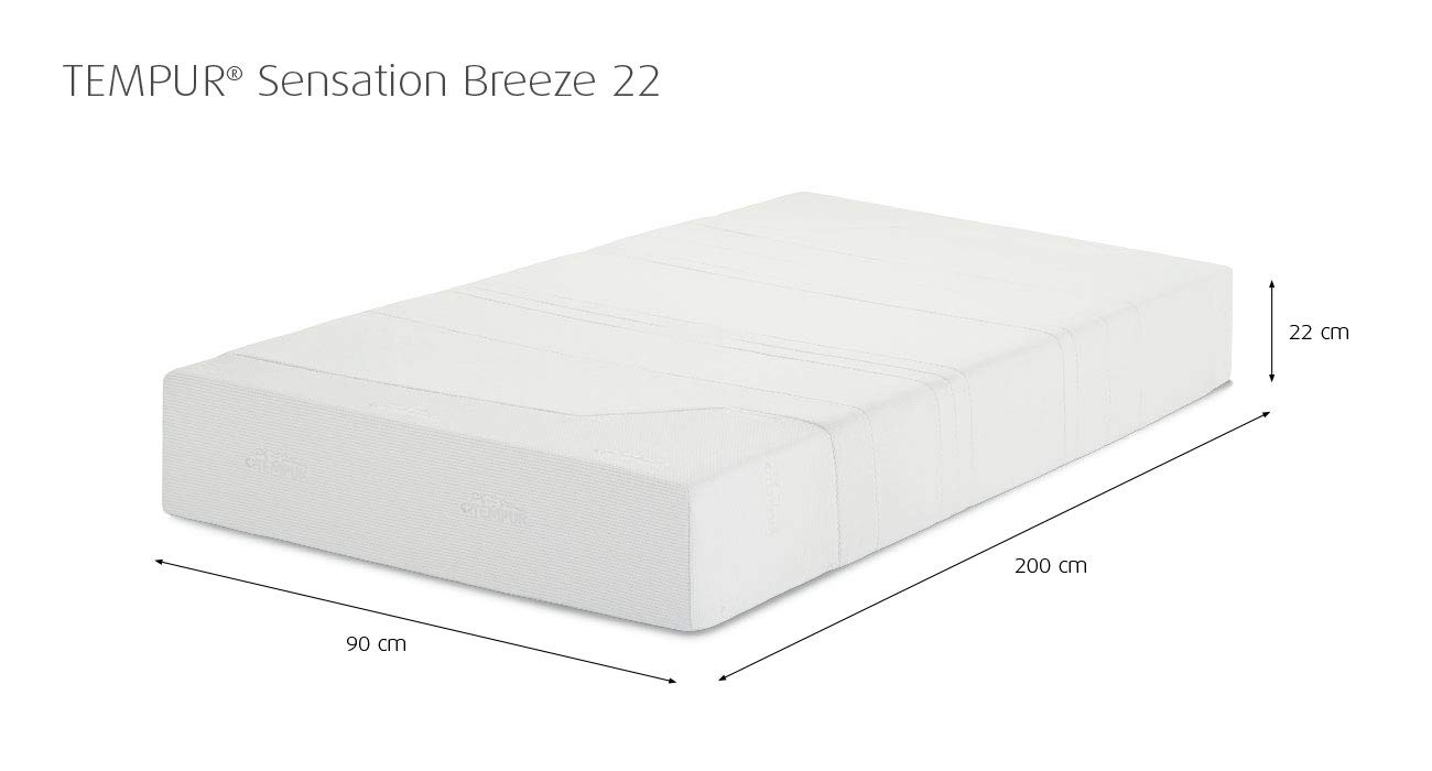 ad1862e0667f2d Tempur Sensation Breeze 22 Matratze