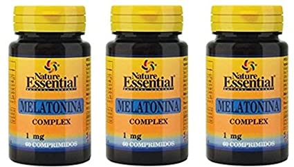 Nature Essential Melatonina Complex - 60 Tabletas