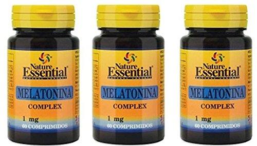 Melatonina 1 mg. complex 60 comprimidos con pasiflora, amapola californiana,melisa, tila y valeriana: Amazon.es: Salud y cuidado personal