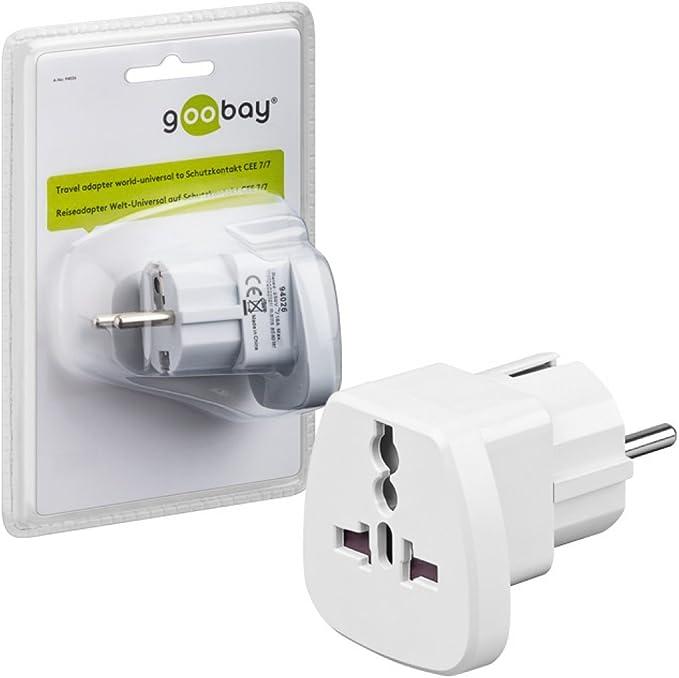 Goobay 94026 Universal Travel Adapter Power Adapter Computers Accessories