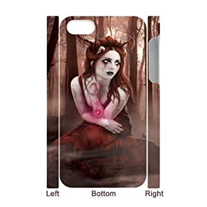 Gothic Gothic girl CHA8026382 3D Art Print Design Phone Back Case Customized Hard Shell Protection Iphone 4,4S