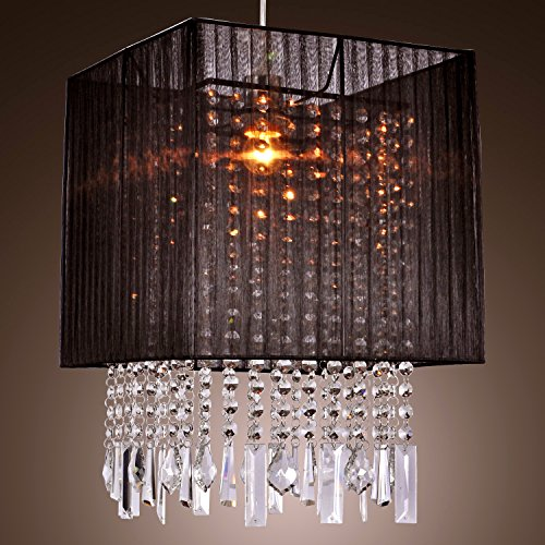 Lightinthebox Stylish Pendant Light With Black Fabric