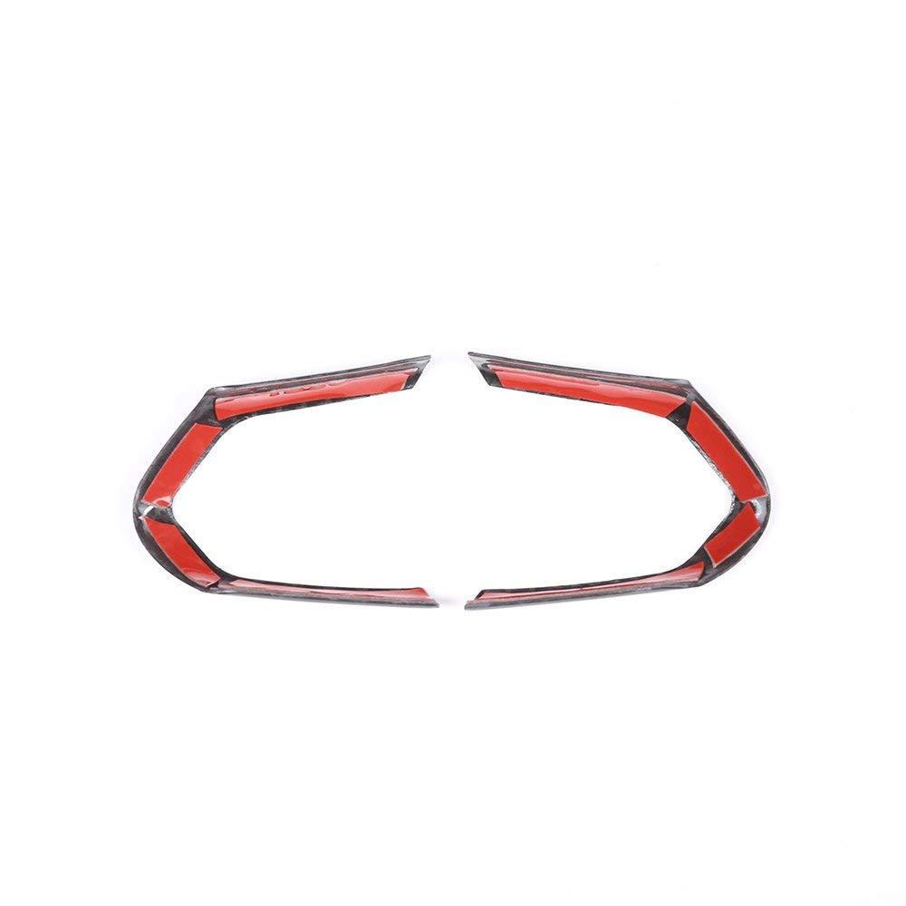 Plastique ABS Chrome Garniture du Cadre de Bouton de Volant pour M3 M4 M5 Nouvelle s/érie 1 3 F20 F30 X5M F15 Argent Mat