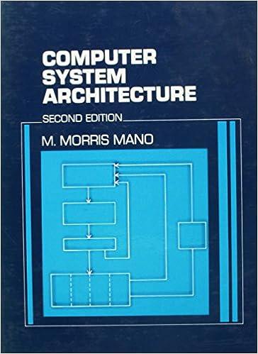 Computer System Architecture Mano M Morris 9780131666115 Amazon Com Books