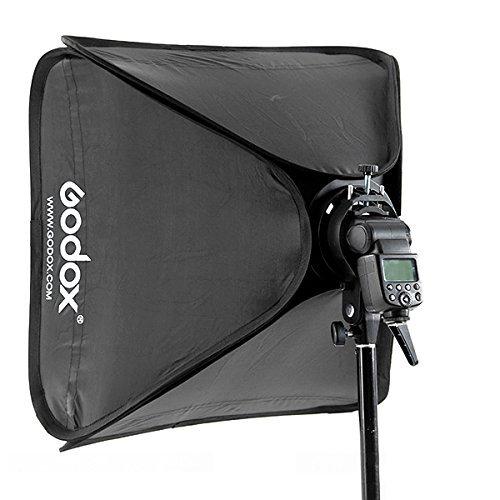 Godox 24''x24''/60cmx60cm Portable Collapsible Softbox Kit for Camera Photography Studio Flash fit Bowens Elinchrom Mount by Godox