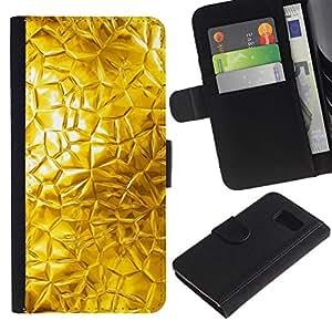 All Phone Most Case / Oferta Especial Cáscara Funda de cuero Monedero Cubierta de proteccion Caso / Wallet Case for Samsung Galaxy S6 // Abstract Glass Sun Window Bright