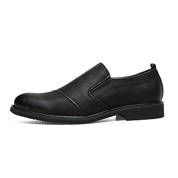 Starttwin Zapatos Oxford para Hombre Moda Slip on Hombre ...