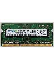 وحدة ذاكرة خطية ثنائية المقبس لنوت باد من سامسونج DDR3L PC3-12800 CL11 بموديل M471B5173QH0-YK0 بوحدة 512MBX64 512MX8 بجهد 1.35 فولت و204 بيكسل